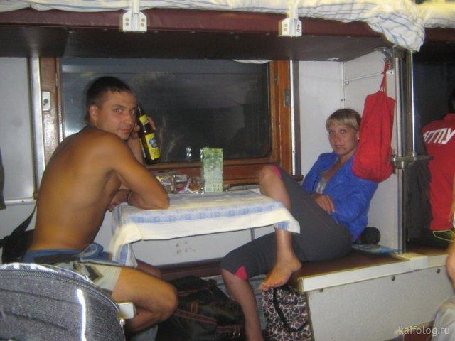Ад и мрак российских поездов (50 фото)