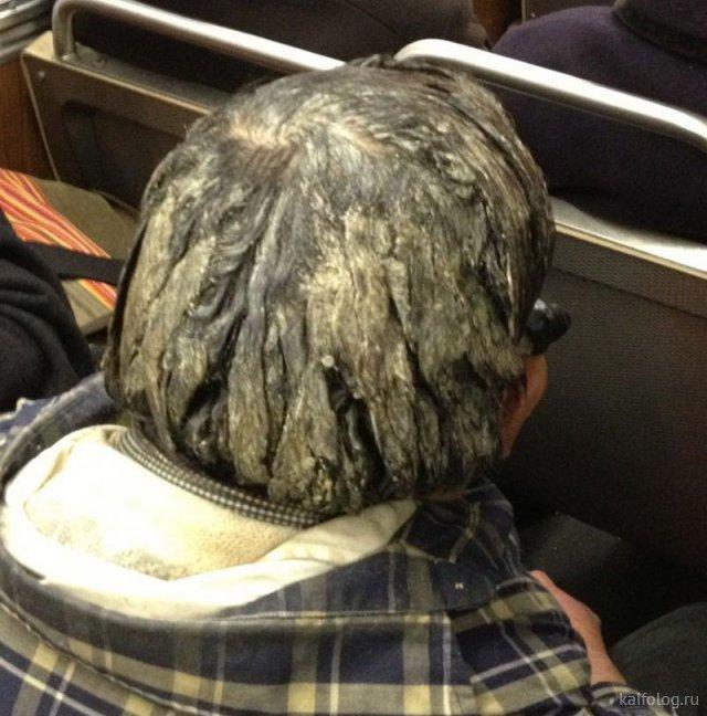Когда лень мыть голову (40 фото)