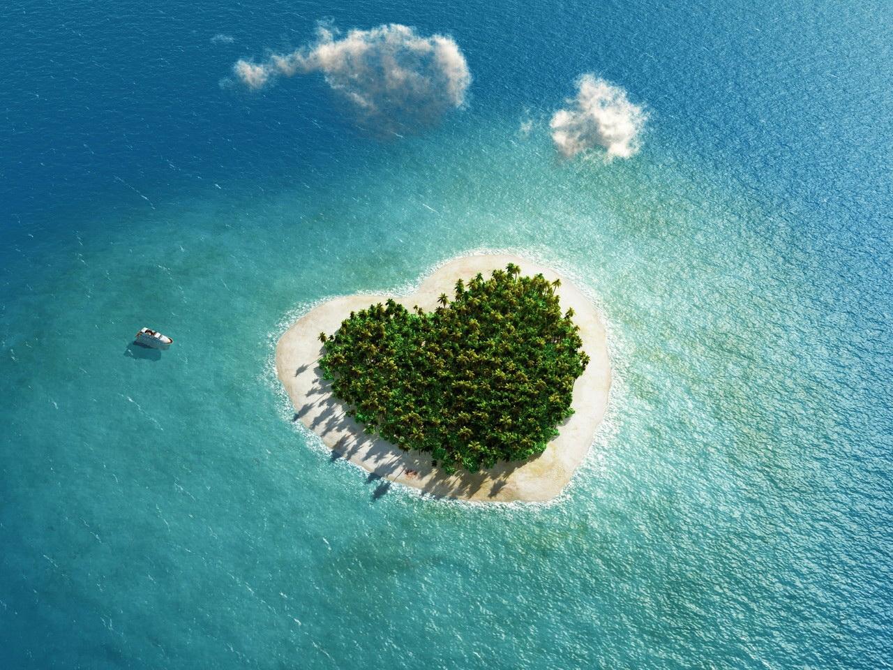 оригинальные поздравления остров нежности фото может