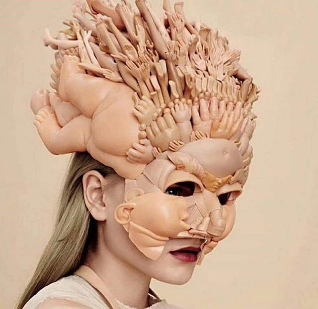 Самые странные девушки 2018 года (65 фото)