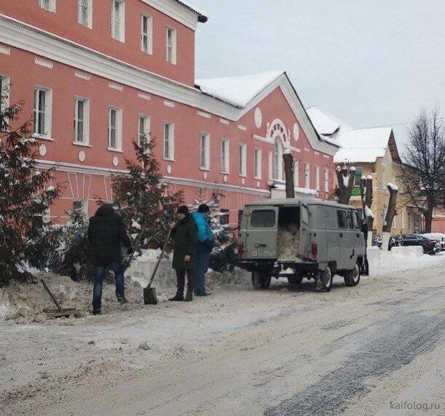 Суровый календарь от минобороны РФ на 2019 год и другие приколы из России (45 фото)