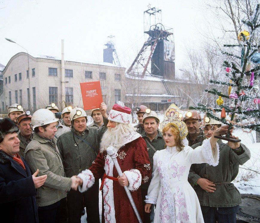 новый год в советские годы фото