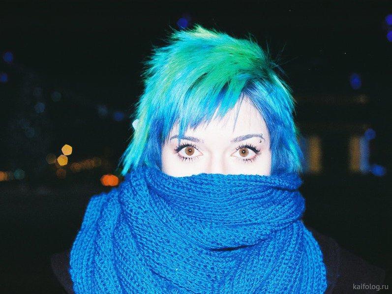 этих прикольные картинки юлька с синими волосами тому же, формалин