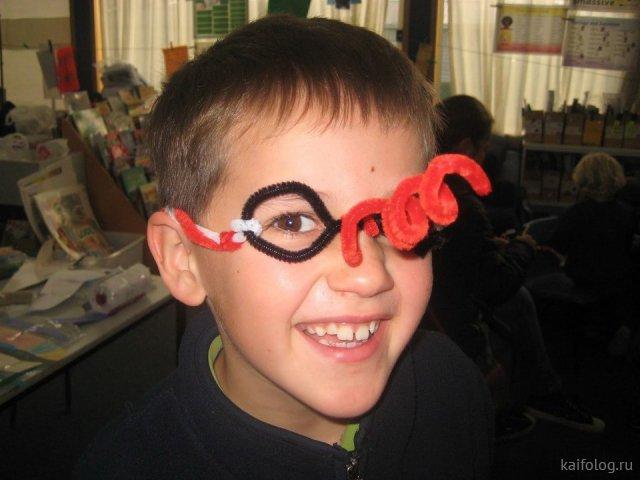 Прикольные детские поделки (30 фото)