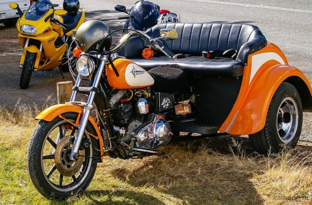 Самые необычные мотоциклы (55 фото)