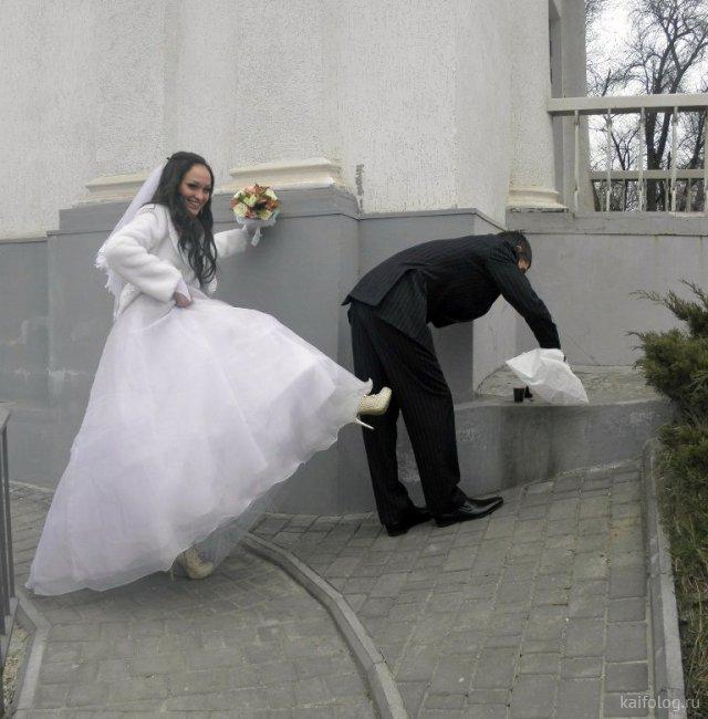 Прикольные фото со свадеб (45 штук)