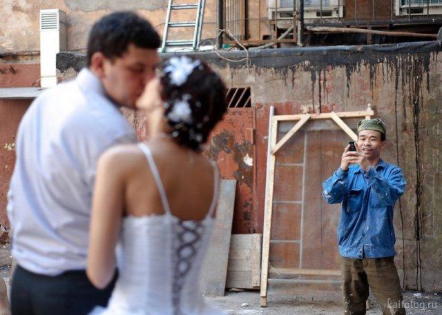 Смешные фото со свадеб (45 штук)