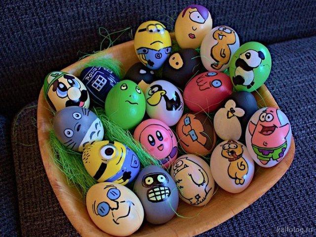 Необычные пасхальные яйца (40 фото)