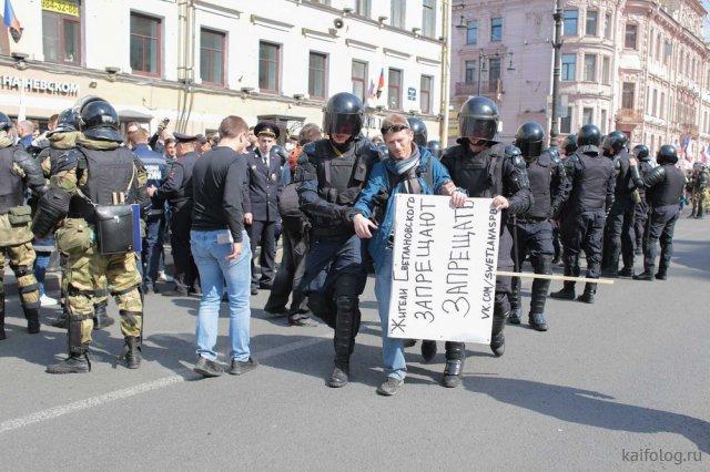 Вся правда про майские праздники в России (50 фото)