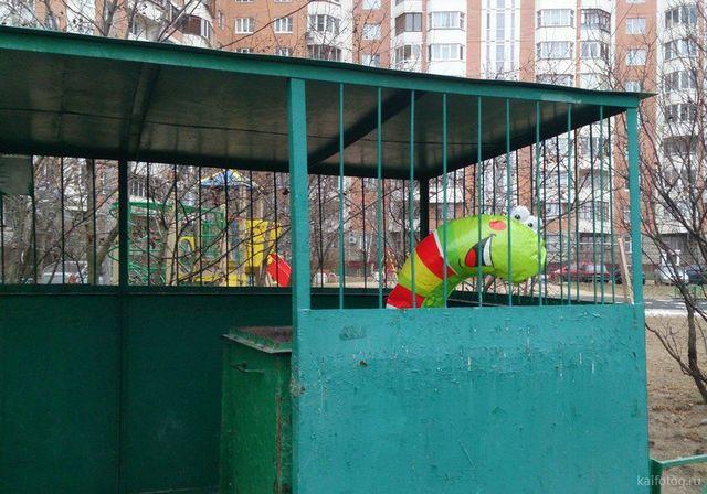 35 приколов с мусорными баками
