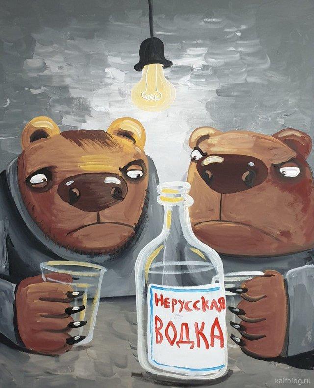40 новых картин Васи Ложкина