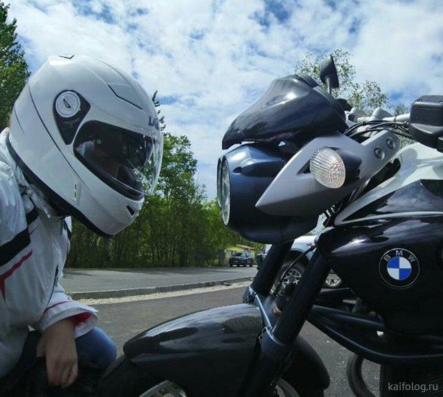 День рождения мотоцикла (35 приколов)