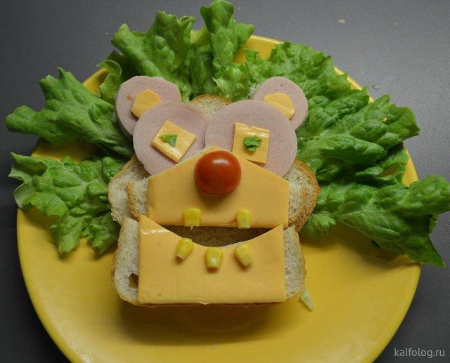 Прикольная еда (35 фото)