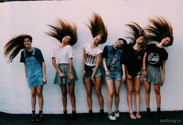 Весёлые девушки (35 фото)