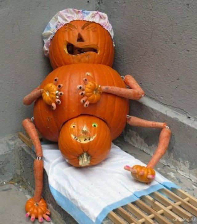 Приколы на хеллоуин (35 фото)