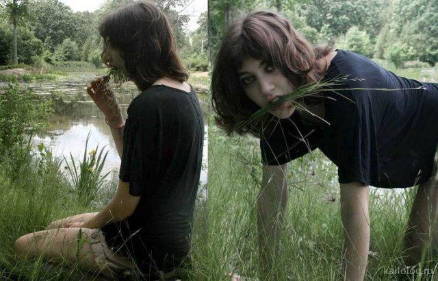 Весёлые и странные девушки (35 фото)