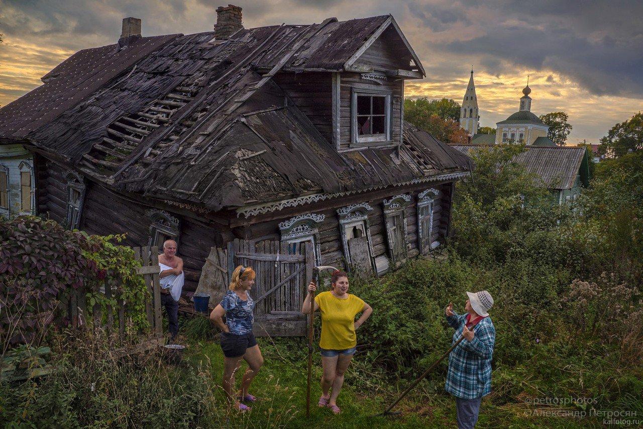 фото жизнь в деревне россии недорогая мебель