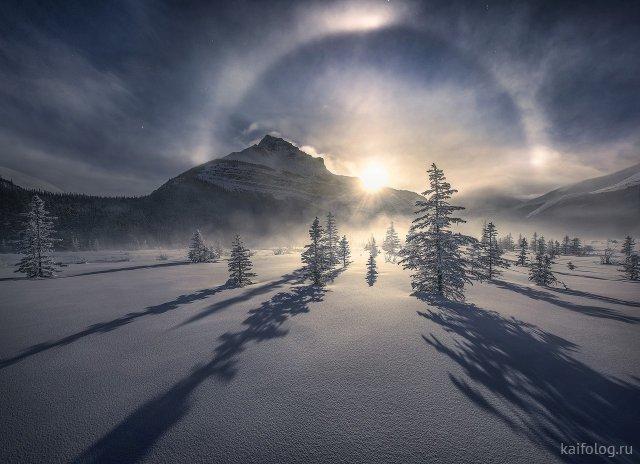 Настоящая зима (35 фото)