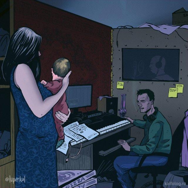 Иллюстрации Алексея Horus (45 картин)