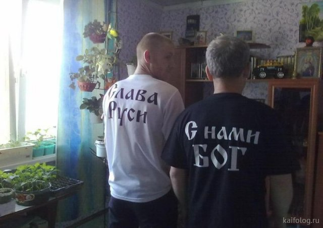 «Прикольные» футболки (40 фото)