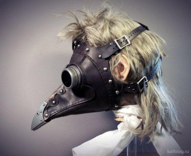 Девушки в масках (40 фото)
