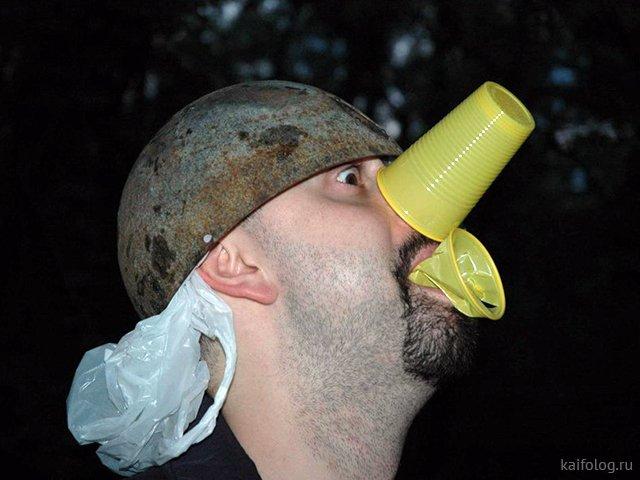 Самые странные пьяные поступки (35 фото)