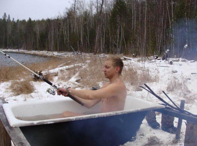 Приколы на день рыбака (40 фото)