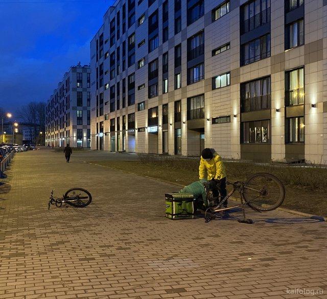 Приколы про Яндекс Еду и Delivery Club (40 фото)