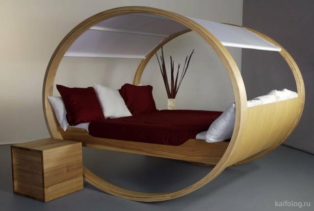 Прикольные и необычные кровати (30 фото)
