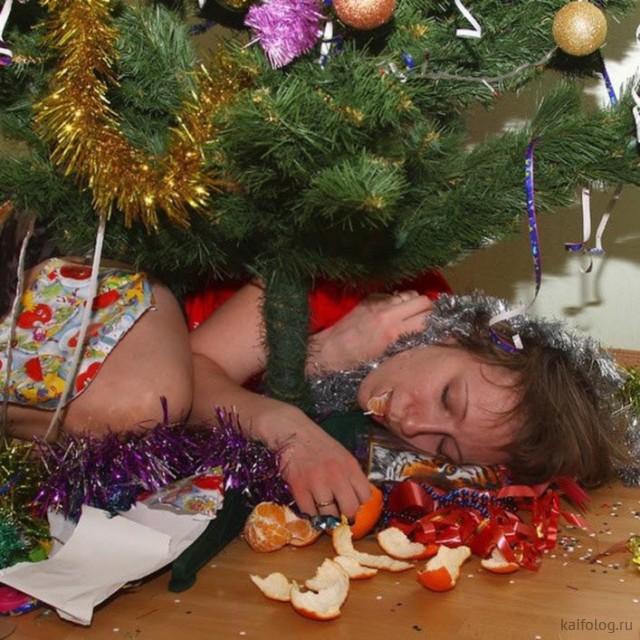 Новогодние фото-приколы (45 фото)