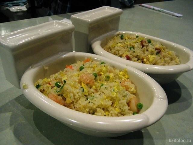 Оригинальная подача блюд (50 фото)