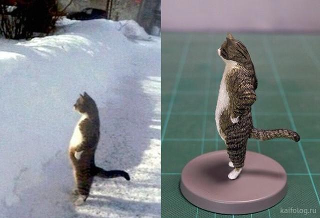 Прикольные скульптуры на известные мемы (41 фото)