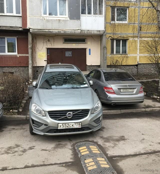 Ужасы неправильной парковки (50 фото)