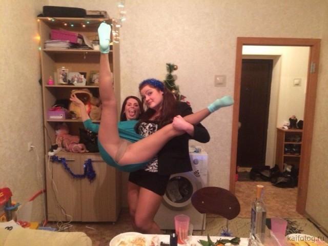 Девушки, которые умеют веселиться (35 фото)