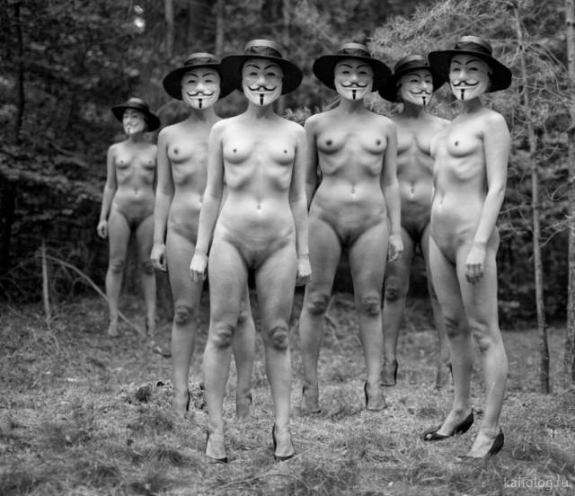 Прикольные и странные девушки (35 фото)