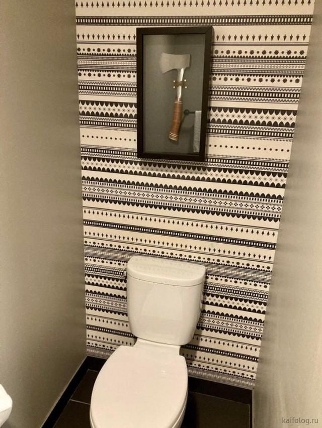 Приколы из туалета (40 фото)